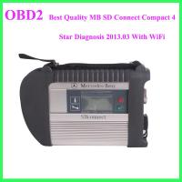 Best Quality MB SD Connect Compact 4 Star Diagnosis 2013.03 With WiFi Manufactures