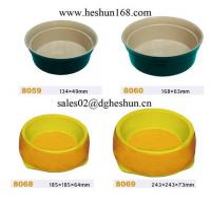 Melamine bowl for pet Manufactures