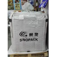 Conductive Fibc NEL/SGS TYPE C Bag , Anti Static Bags Flammable Goods Bulk Packing Manufactures