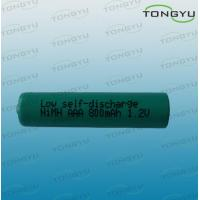 800mAh 1.2V AAA NiMh Rechargeable Battery Cell for Solar Lights , MP3 Players Manufactures
