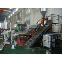 Multi - Screw PVC Plastic Pelletizing Machine + Single Screw Extruder Insulate With Good Foam Manufactures