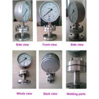 Stainless steel corrosive-proof diaphragm gauge Manufactures