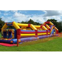 Popular Bouncy Obstacle Course Race World Championship With PVC Manufactures