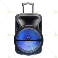 8 Trolley Portable PA Speakers 220V 50Hz Bluetooth Wireless for Museums Manufactures