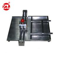 Clear Scale Vertical Pressure Cutting Machine For Paper Making ,  Quality Control Manufactures