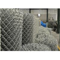 PVC balck powder coated chain wire fence 50mm x 50mm x 3.00mm Manufactures
