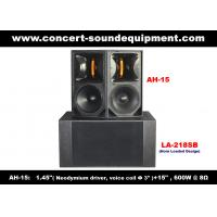 600W Concert Sound Equipment , 1.4 + 15 Full Range Speaker For Show , Conference , Living Event And DJ Manufactures