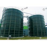 Customized Glass Lined Water Storage Tanks ANSI AWWA D103-09 Design Standard Manufactures
