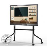 Stand Floor Bracket Touch Screen Kiosk LCD Interactive Dual System Andriod / Windows Manufactures