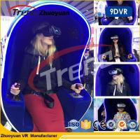720 Degree Immersion Helmet 9D Virtual Reality Simulator Chair For Shopping Mall Manufactures