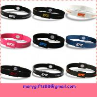 hot sale power silicone bracelet Manufactures