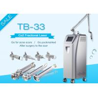 10600nm Co2 Fractional Laser Equipment Medical Scar Removal And Vaginal Tightening Manufactures