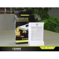 800 MAH Solar Sensor Wall Light With 0.66W Solar Panel 3A Battery Manufactures