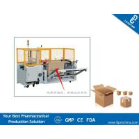 China Flaps Folding Carton Sealer Semi Automated Packaging Machine for Case Sealing on sale