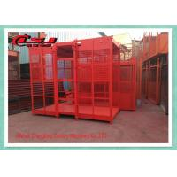 2 Motor High Twin Construction Material Lift , Building Site Material Lift Elevator Manufactures