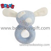 5.5Soft Blue Mouse Infant Animal Toys Baby Holder Toy Manufactures