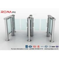 Swing Barrier Gate Pedestrian Security Gate Visitor Entry Access Control For Office Building With CE approved Manufactures