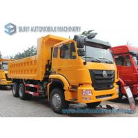Buy cheap 371hp Sinotruk engine hohan Heavy Dump Truck 6x4 Load capacity 40 T  19 cubic cargo from wholesalers