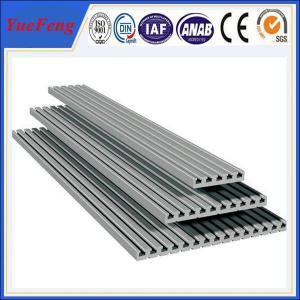 Hot! aluminium special profile aluminium extrusion factory, l shape aluminum profile Manufactures