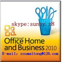 China Home Business Microsoft Office 2010 Activation Key , Office Home Business 2010 FPP Key , Office 2010 HB on sale