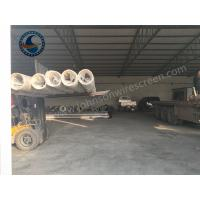 China High Flow Johnson Wedge Wire Screen / Johnson Screen For Water Well Sand Control on sale