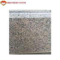 Natural Stone Cherry Red Granite Tile For Flooring / Wall Cladding Manufactures
