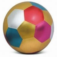 China Giant Ball with Fabric Cover, Available in Various Sizes, Used as Soccer Balls on sale