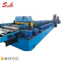 Railway stainless steel roofing/wall/floor deck making roll forming machine for sale