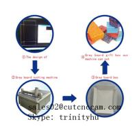 chipboard grey board gift box making machine brief introduction Manufactures