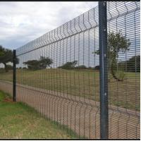 High Security Welded Mesh Fence Galvanized Wire Fence Panels Easily Assembled Manufactures