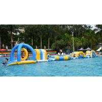 Inflatable Floating Water Park / Inflatable Water Sport Games For Pool Manufactures