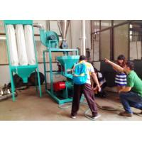 EVA 50HZ Plastic Pulverizer Machine Recycling With Dust Removal System Manufactures