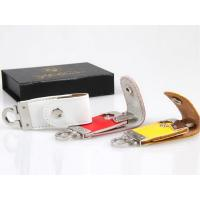 Fashion Colorful Leather USB Flash Disk High Speed With Gift Box Manufactures