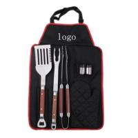 BBQ Set with Apron Manufactures
