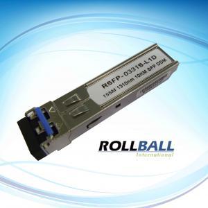China Digital Diagnostic Monitoring, 155Mbps TR x 1550nm 120KM SFP Fiber Transceiver Module on sale