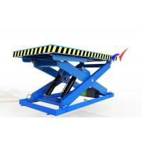 Steady Performance Low Profile Scissor Lift , Hydraulic Lift Table Wtih 85mm Closed Height Manufactures