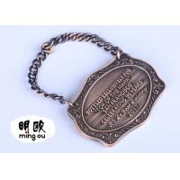 Bronze Plating Custom Sport Medals Heavy Weight Zinc Alloy With Engraved Logo Manufactures