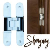180 degree 3d adjustable invisible hinge for concealed door Manufactures