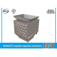 304 Stainless Steel Permanent Magnetic Separator Drawer Magnet 6 Layer Manufactures