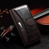 Lichi Splitting Iphone 6 Leather Wallet Case Stand Function Card Holder Manufactures