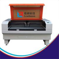 Co2 Laser Cutting Machine For Embroidery / Advertisement 100W laser cutting machine Manufactures