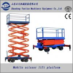 mobile hydraulic scissor lift platform for construction Manufactures