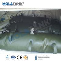 Molatank 200 gallon flexible fuel/oil storage bladder container tank for boat/ yacht/ airplant Manufactures