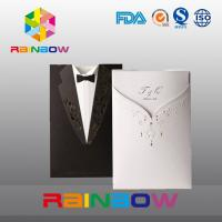 China Luxurious Customized Paper Bags For Wedding Invitation Card With Vivid Print on sale