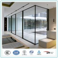 Heat Reflection Sound Proof Clear Review Floor To Ceiling Window Insulated Glass Manufactures