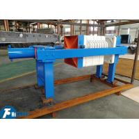 Quality 4m2 Industrial PP Filter Press 0.6Mpa Filtrating Pressure For Wine Production for sale