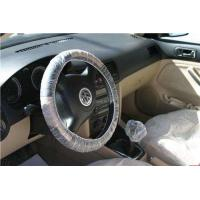 Disposable LDPE HDPE Plastic Steering Wheel Cover 15mic, 20mic Thickness For Auto Car Manufactures