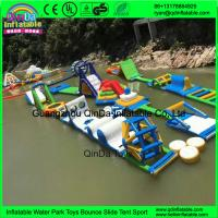Buy cheap 2017 New Design Giant Commercial Adult Lake Amusement Water Park Inflatable Sea Floating Aqua Park from wholesalers