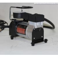 Single Cylinder Metal Air Compressor Handy 3m Cord With Cigarette Lighter Manufactures