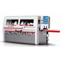 Heavy Duty Four Side Moulder Wood Planer Machine Six Head 230mm Working Width Manufactures